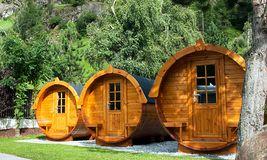 Kempinky s originálním ubytováním
